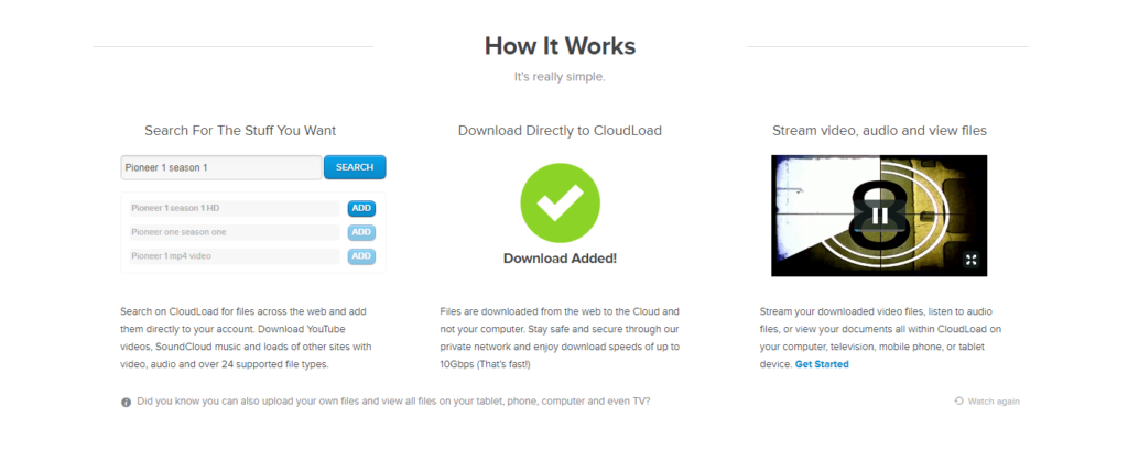 Torrent AlternativeCloudload review - Torrent Alternative