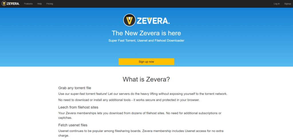 The Zevera design is simple, yet tells everything